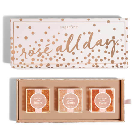 Sugarfina Rose All Day 3 Piece Bento