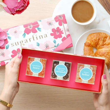 Sugarfina 3pc Bento Floral