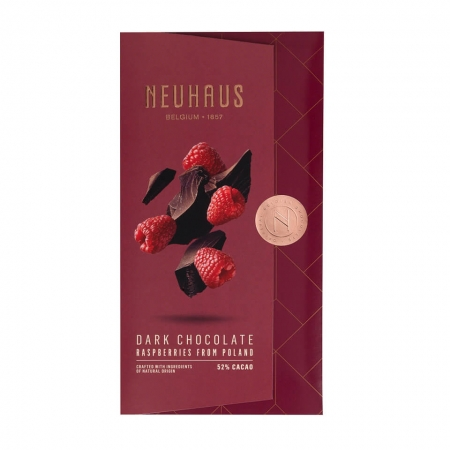 Neuhaus Belgian Chocolate Tablets Dark Raspberry