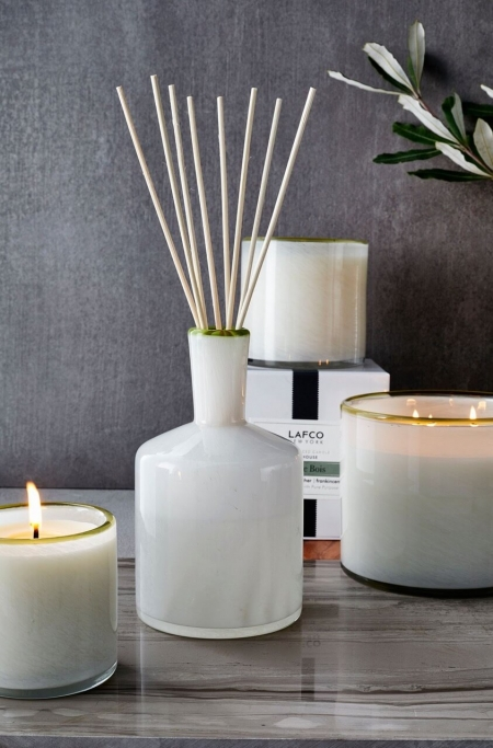 Lafco-Feu-De-Bois Diffusers and Candles
